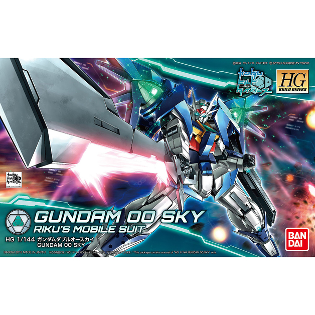 HGBD 1/144 Gundam 00 Sky - Model kit