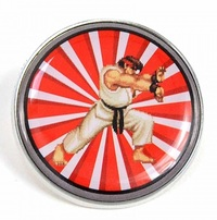 Street Fighter: Enamel Badge - Ryu