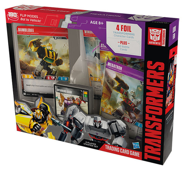 Transformers TCG: Bumblebee vs Megatron Starter