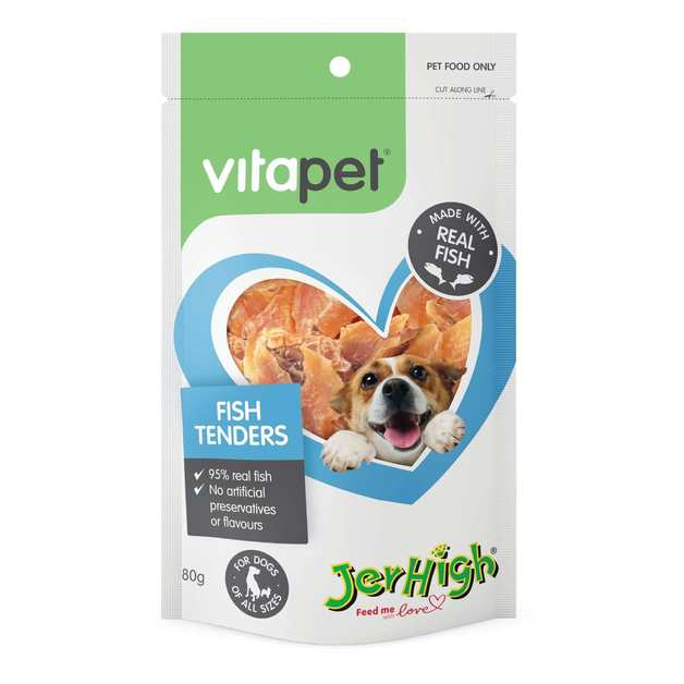 Vitapet: Jerhigh Fish Tenders (80g)
