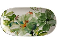 Casa Domani Botanical Oval Platter 33x17cm Gift Boxed