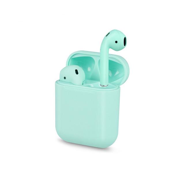 True Wireless Touch Key Bluetooth 5.0 Earphones - Green