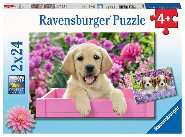 Ravensburger: 2 x 24-Piece Puzzle - Me and My Pal