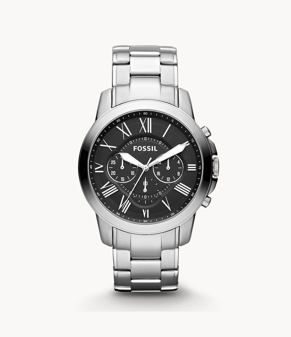Fossil: Grant Watch - Silver image