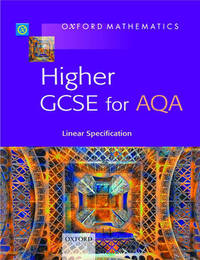 Oxford Mathematics: Higher GCSE for AQA image