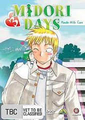 Midori Days - Vol. 3: Handle With Care on DVD