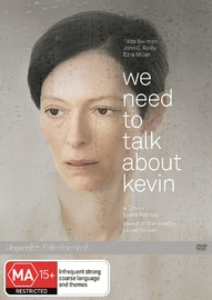 We Need To Talk About Kevin on DVD