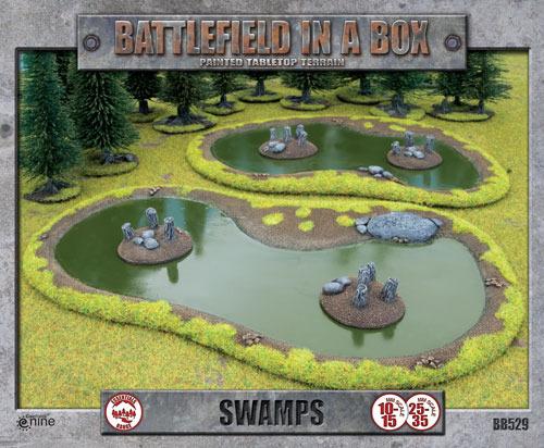 Battlefield in a Box - Swamps