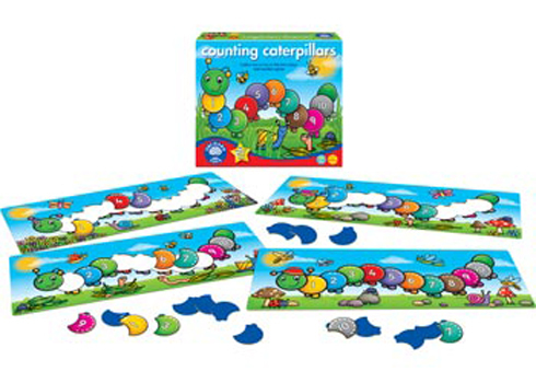 Orchard Toys: Counting Caterpillars Board Game