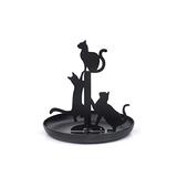 Black Cat Jewellery Holder