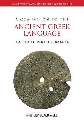 A Companion to the Ancient Greek Language image
