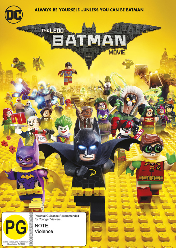 The Lego Batman Movie | DVD | In-Stock - Buy Now | at Mighty Ape NZ