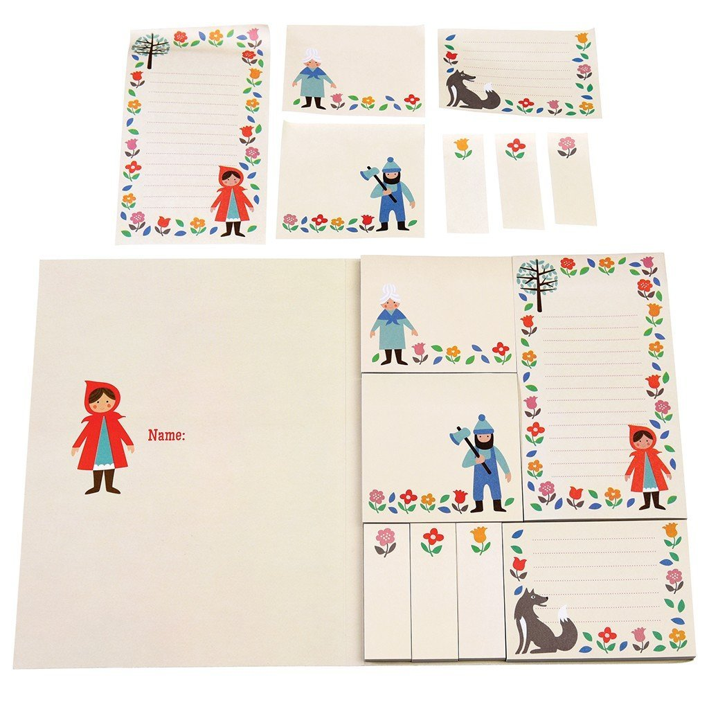 Red Riding Hood Memo Pads image