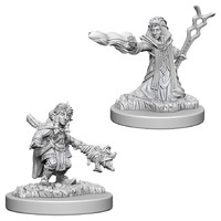 D&D Nolzurs Marvelous: Unpainted Miniatures - Female Gnome Wizard