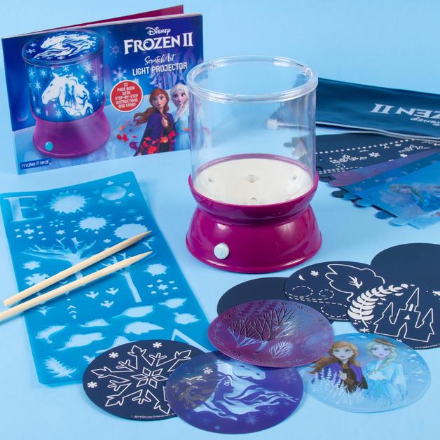 Make It Real: Frozen 2 - Light Up Cosmic Art Projector