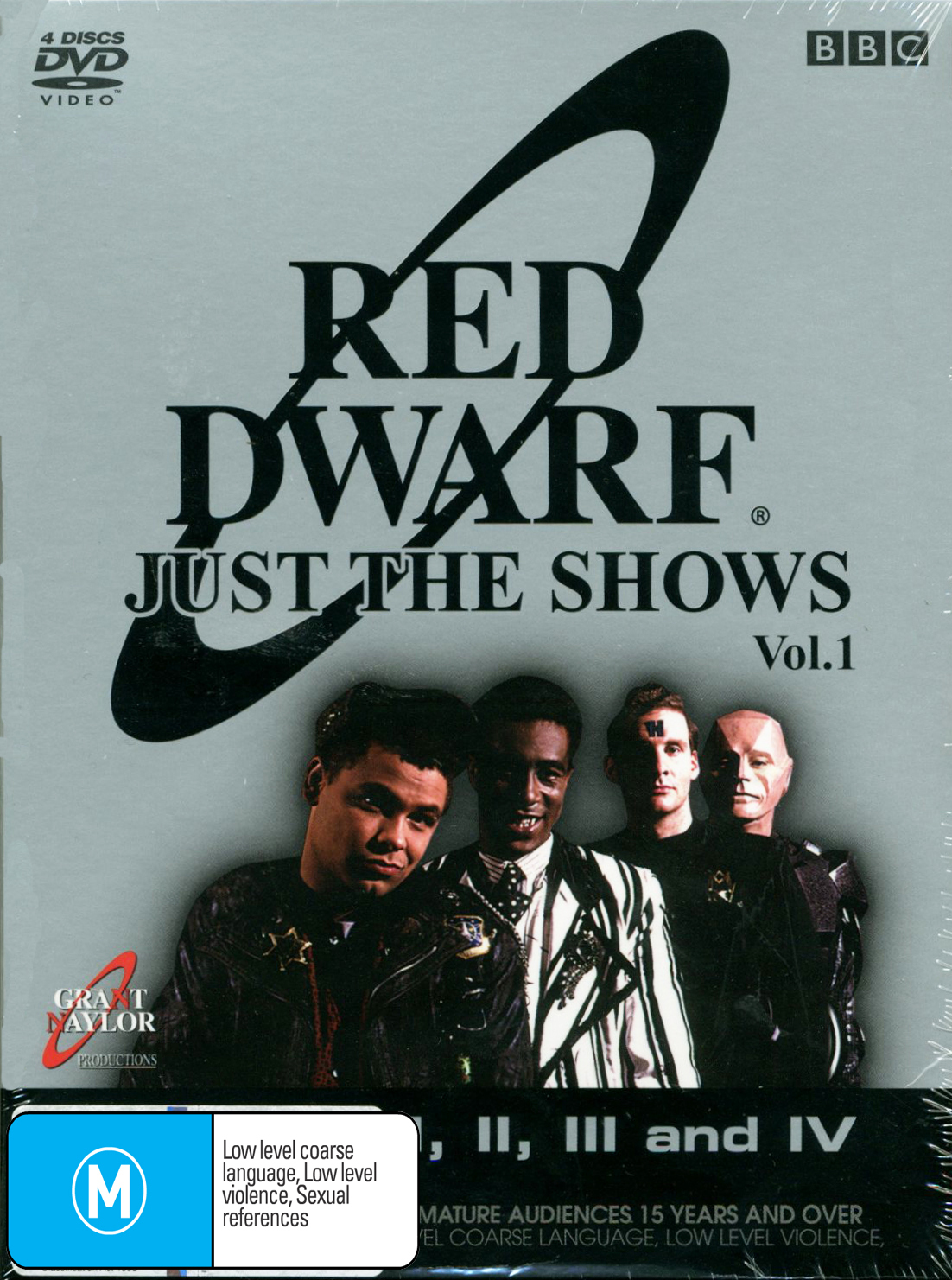 Red Dwarf - Just The Shows: Vol. 1 (4 Disc Set) on DVD image