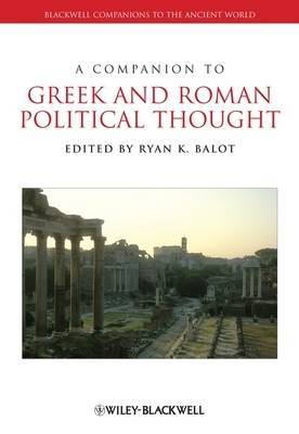 A Companion to Greek and Roman Political Thought image