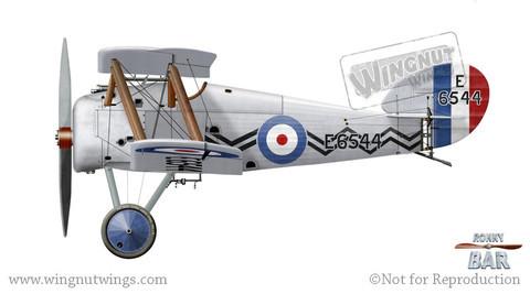 Wingnut Wings 1/32 Sopwith Snipe Late Model Kit image