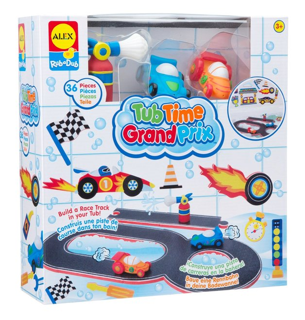 Alex: Rub a Dub - Tub Time Grand Prix