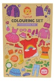Tiger Tribe: Colouring Set - Fashionista Fun