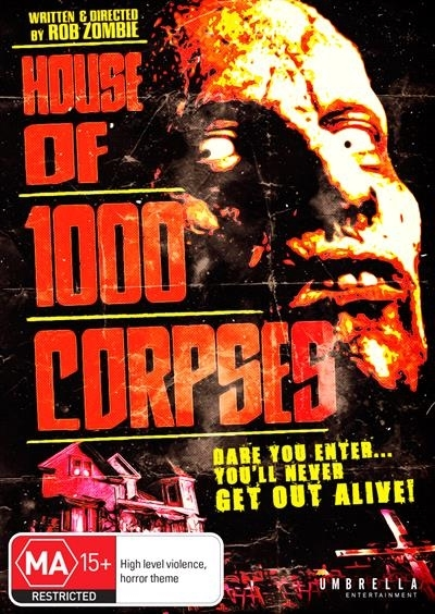 House Of 1000 Corpses on DVD