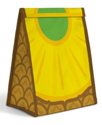 Mustard: Froot Sandwich Bag - Pineapple