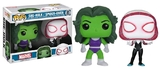 Marvel - She-Hulk & Spider-Gwen Pop! Vinyl 2-Pack