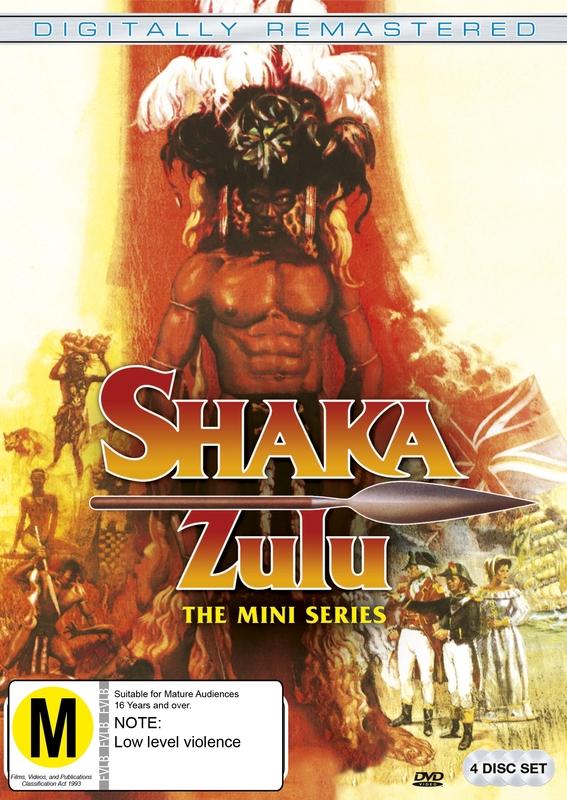 Shaka Zulu on DVD