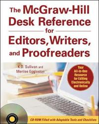 McGraw-Hill Desk Reference for Editors, Writers, and Proofreaders by Merilee Eggleston image