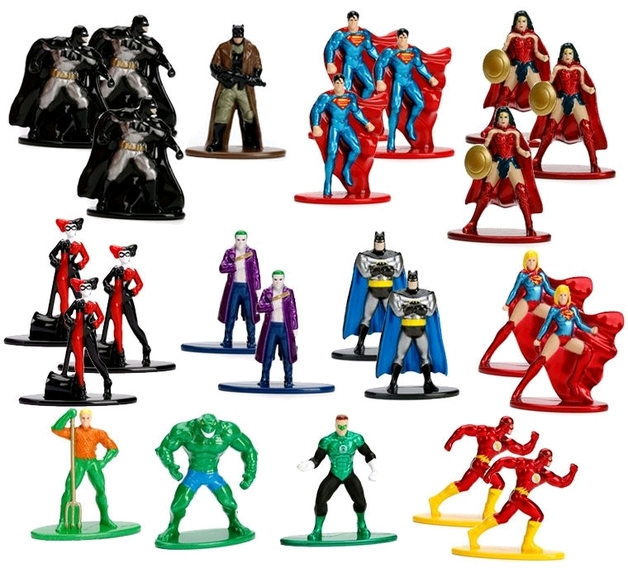 Jada Metal Minis: DC Comics – Die-Cast Mini-Figures (Assorted Designs)