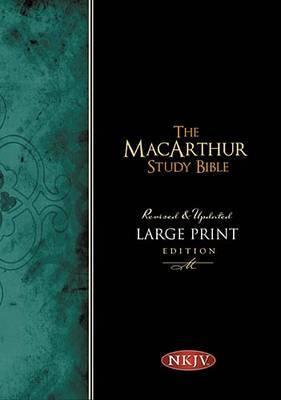 MacArthur Study Bible-NKJV-Large Print by Thomas Nelson image