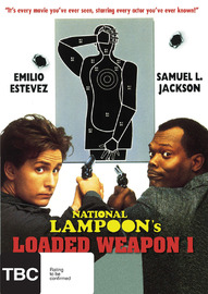 National Lampoon's - Loaded Weapon I on DVD
