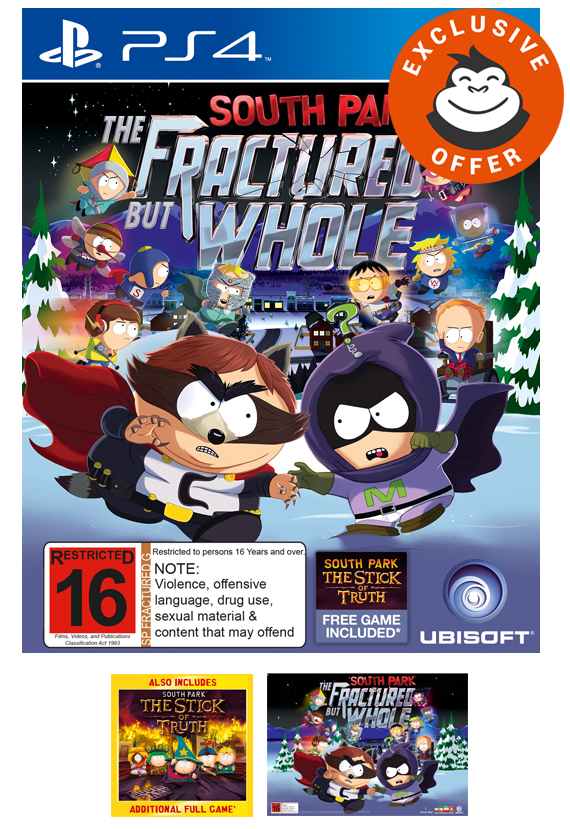 South Park: The Fractured But Whole (Uncut) for PS4 image