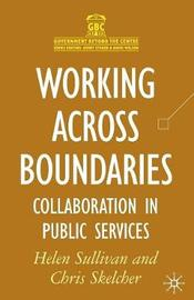 Working Across Boundaries by Helen Sullivan