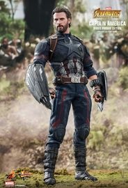 "Avengers Infinity War: Captain America - 12"" Articulated Figure image"