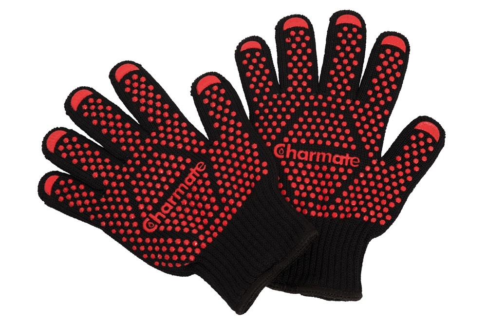 Charmate: Heat Resistant BBQ Gloves (Pair) image