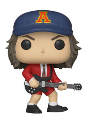 AC/DC - Angus Young (Red Jacket) Pop! Vinyl Figure