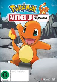 Pokemon: Partner Up With Charmander! on DVD