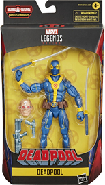Marvel: Legends Series - Deadpool Blue and Gold