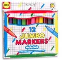 Alex: Washable Jumbo Broad Tip Markers