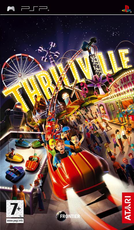 Thrillville for PSP