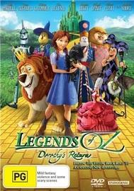 Legends of Oz: Dorothy's Return on DVD