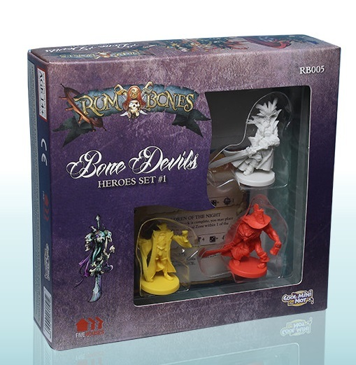 Rum and Bones: Bone Devils Heroes Set #1