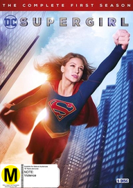 Supergirl - Season 1 on DVD