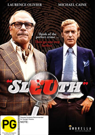 Sleuth on DVD