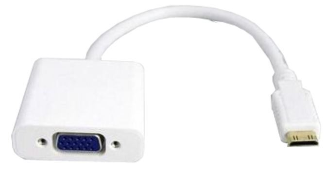 Digitus mini HDMI Type C (M) to VGA (F) Adapter Cable image