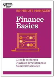 Finance Basics (HBR 20-Minute Manager Series) by Harvard Business Review