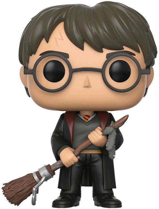 Harry Potter - Harry Potter (With Firebolt) Pop! Vinyl Figure image