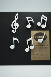Qualy Memody Magnet (White)
