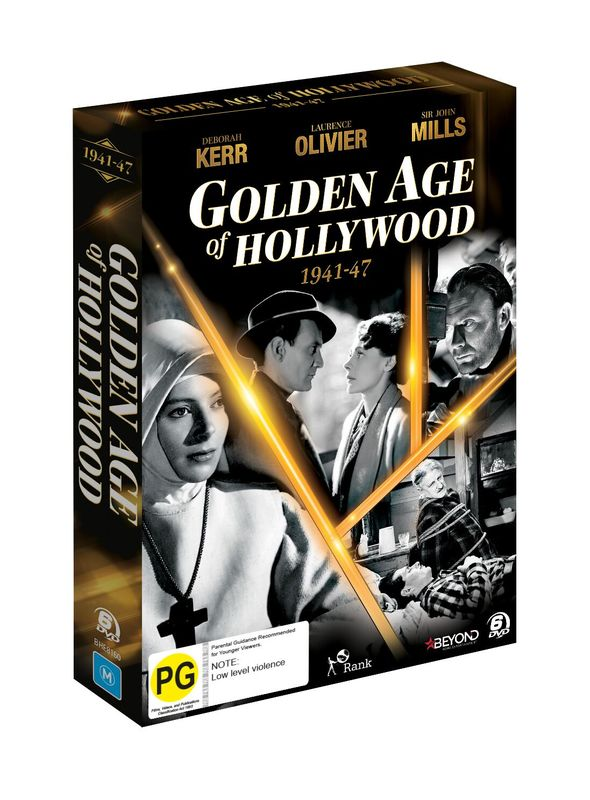 Golden Age of Hollywood (1941-1947) on DVD